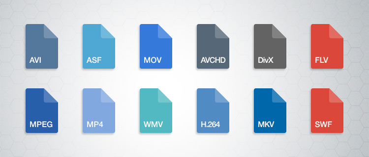 Find what video file formats are used for and which one to use